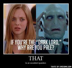 hahaha! Harry Potter/Mean Girls