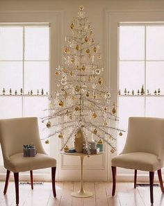 mid century modern blog ideas for a mid century christmas - Mid Century Christmas Decor