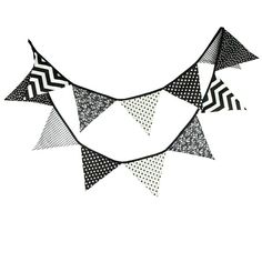 Handmade Black,Dark Grey,Silver Grey /& White Cotton Bunting parties, weddings