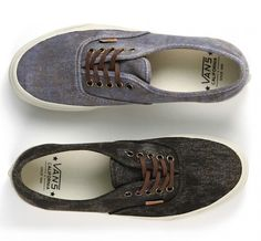 NEW VANS CA AUTHENTIC 'STAINED'