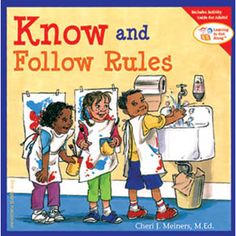 Know and Follow Rules Book. $10.95