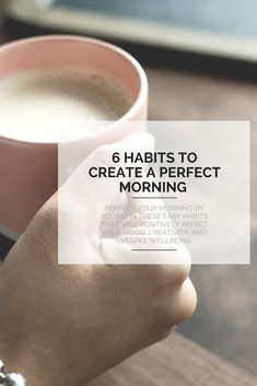 Perfect your morning routine by adding in these easy habits that will positively affect your mood, creativity, and overall wellbeing. Meditation Apps, The Longest Journey, 30 Day Challenge, Reiki, Routine, Creativity, Mindfulness, Happiness, Positivity