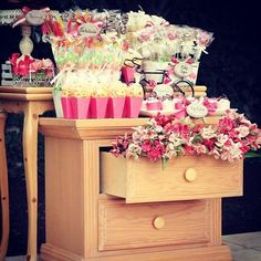 Last mini candy station we did for a baby shower.