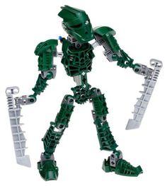 LEGO Bionicle: Toa Matau. This one I had.