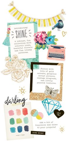 Shine Collection - Maggie Holmes Design - Crate Paper