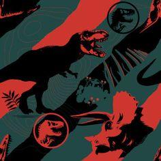 Jurassic World: Fallen Kingdom: products at Zazzle Jurassic Park Party, Jurassic Park World, Red And Grey, Black, Grey Pattern, Movie Posters, Image, Ideas, Jurassic World Dinosaurs