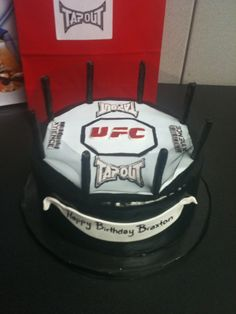 UFC Cake #MMA #UFC #Fight 8531 Santa Monica Blvd West Hollywood, CA 90069 - Call or stop by anytime. UPDATE: Now ANYONE can call our Drug and Drama Helpline Free at 310-855-9168.