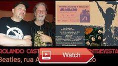 Rolando Castello Junior Entrevista 1 Beatles rua Augusta e o Mxico  Convidado Rolando Castello Junior baterista e produtor Lder e fundador do Patrulha do Espao Junior tambm tocou nas