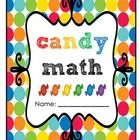 I created this fun candy math packet as an educational activity to do with my 1st graders any time of the year. I made it so that it can be used wi...