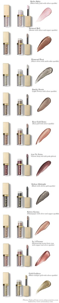 Find out which stila glitter and glow liquid eyeshadow is my favorite! A must have in your makeup staples!