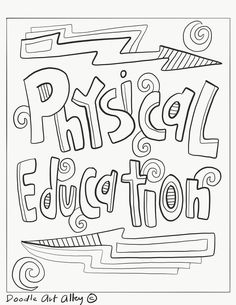 Free, printable Subject Cover Pages Coloring Pages for your students and classrooms. Front Page Design, Page Borders Design, Border Design, Physics Projects, Chemistry Projects, Cover Page For Project, Binder Covers Free, Dance Coloring Pages, School Book Covers