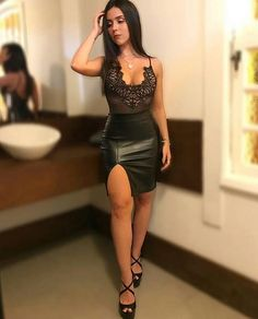 Sexy Outfits, Clubbing Outfits, Cute Comfy Outfits, Skirt Outfits, Sexy Dresses, Fashion Outfits, Neon Party Outfits, Lawyer Outfit, Stylish Clothes For Women