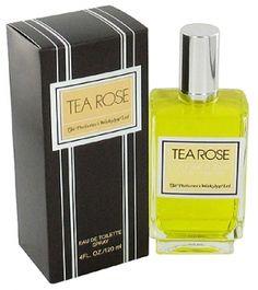 """Tea Rose"" by Perfumer`s Workshop (1975) Features bergamot, rose, lily, tuberose, sandalwood, amber, cedar and Brazilian rosewood. Very feminine and long lasting."