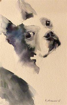 "Daily Paintworks - ""adopt106"" - Original Fine Art for Sale - © Katya Minkina"