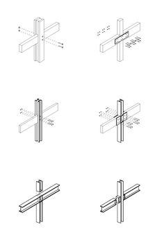 Rafter Ring Beam Connection In Details Pinterest
