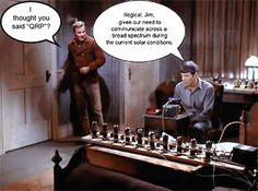 Star Trek, ham radio humor