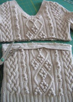 Repurpose an old sweater into a scarf.  I have so many old sweaters I cant bring myself to throw away.  This is an excellent idea.