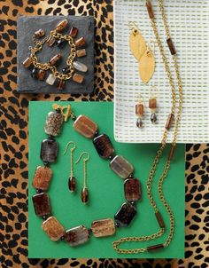 The Safari Collection from Sara Blaine - loving especially the necklace!
