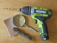 DIY decorative magnifying glass using the Rockwell 3rill
