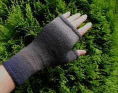 Colourful Fingerless Gloves by CrazyAboutGloves on Etsy