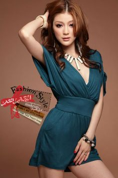 Free shipping/2012 New/Hot/Short sleeve/Jumpsuits & Rompers/shorts/blue black/V/sexy/Solid/Dress/Cotton/RG1207033 $10.00