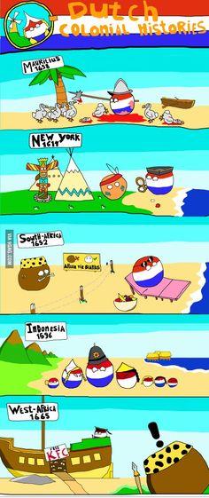 Dutch Colonial Adventures. The Dutch are bastards!