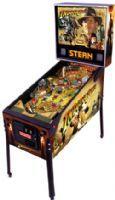 Indiana Jones Pinball Machine (2008)