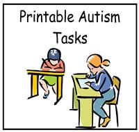 Free File folder activities, printables for students with autism.