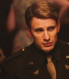 I'll never get over how attractive you are, Chris Evans.