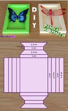 Как сделать бумажную рамку своими руками. How to make a frame of paper. #фоторамка #рамкаизбумаги Diy Photo Frame Cardboard, Cardboard Box Crafts, Paper Crafts Origami, Diy Paper, Diy Home Crafts, Diy Arts And Crafts, Crafts For Teens, Diy For Kids, Exploding Gift Box