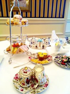 We just love the Fairmont Royal York's Afternoon Tea China! It is beautiful!
