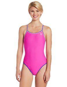 fa7fa83afd04b TYR SPORT Women s Hydraspan Double Binding Reversible Diamondfit Swimsuit