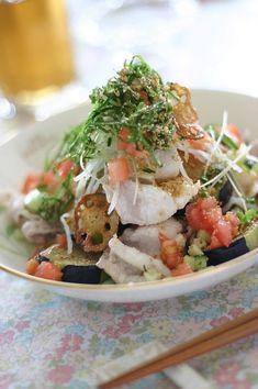 野菜がメインの冷しゃぶサラダ | 小春ちゃんオフィシャルブログ「ぽかぽかびより」Powered by Ameba