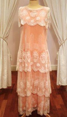 20's Peach Dress