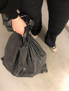 Gått med søppel og sorter svinn