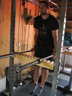 Back To Primal: Power Rack Parallel bars