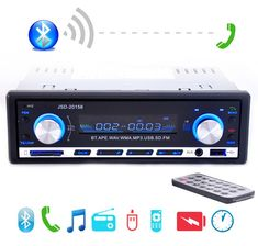 Sale US $23.40  2017 New 12V Car Stereo FM Radio MP3 Audio Player Support Bluetooth Phone with USB/SD MMC Port Car Electronics In-Dash 1 DIN  #Stereo #Radio #Audio #Player #Support #Bluetooth #Phone #USBSD #Port #Electronics #InDash  #Online