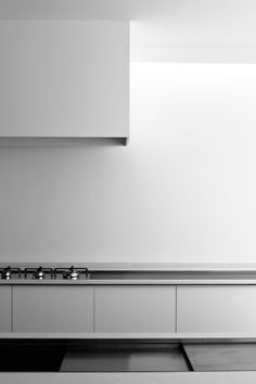 Kitchen simplicity. Clean lines.