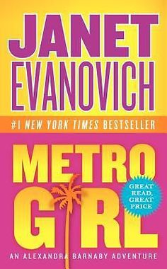 awesome METRO GIRL BOOK 1 BY JANET EVANOVICH IN SIFT COVER - FREE SHIPPING - For Sale