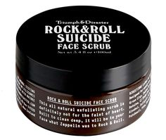 Rock & Roll Face Scrub £23 Glamping Essentials for Festival Goers! www.byoutifulyou.com/gallery/lifestyle/2013/6/27/glamping-essentials-for-festival-goers #festival #lifestyle #fashion #beauty