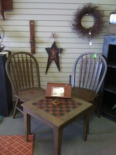 Oh now..this is sweet!... Love this table for the porch!
