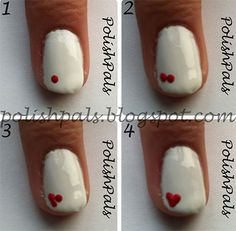 25 Very Easy & Simple Step By Step Nail Art Tutorials For Beginners & Learners 2014 | Girlshue