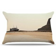 East Urban Home Nautical Bliss by Sylvia Coomes Pillow Sham Size:
