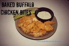 Baked Buffalo Chicken Bites!!  Super Bowl FOOD!!!!