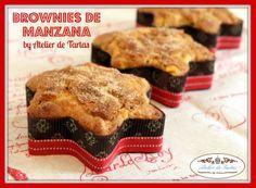Brownies de manzana
