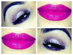 Amethyst Eyes & Cherry Lips