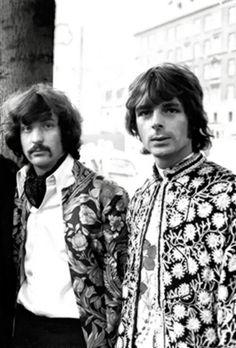 Nick Mason and Richard Wright, Pink Floyd
