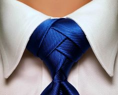 Pre Tied Eldredge Tie Knot Pre Knotted Necktie Knot