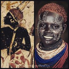 Kenya people. Culture milenar Pharaonique. Kemet