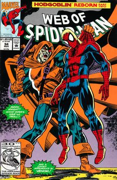 Web of Spider-Man #94 saw Hobgoblin get another reboot